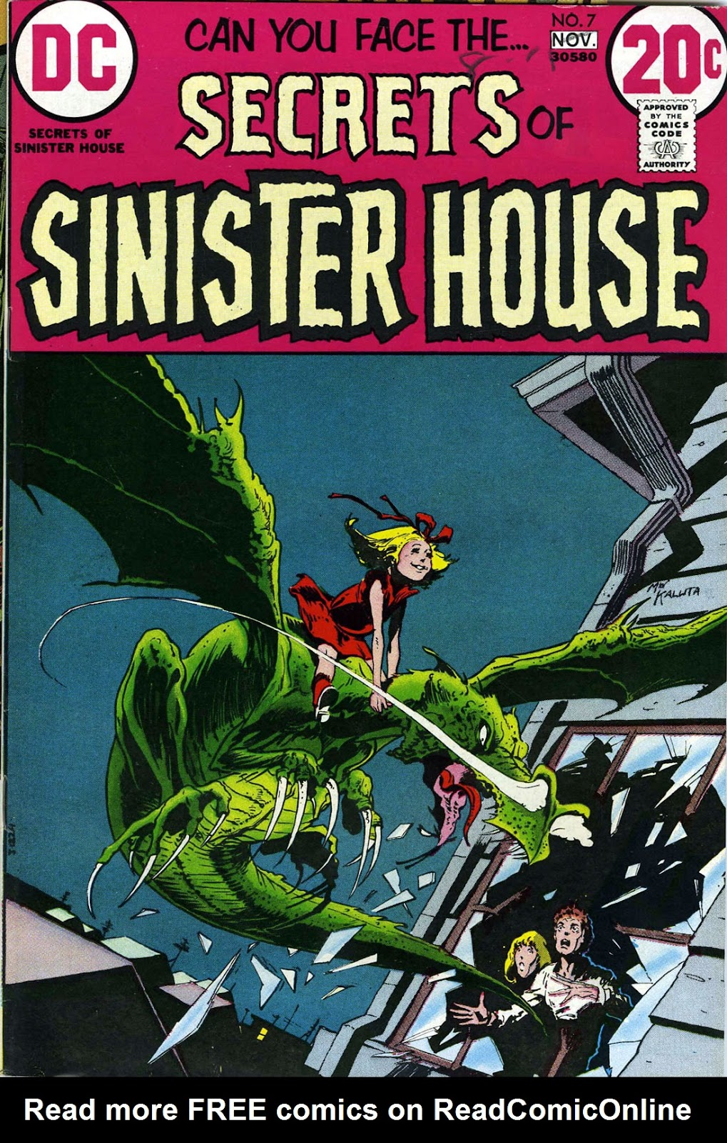 Secrets of Sinister House (1972) 7 Page 1