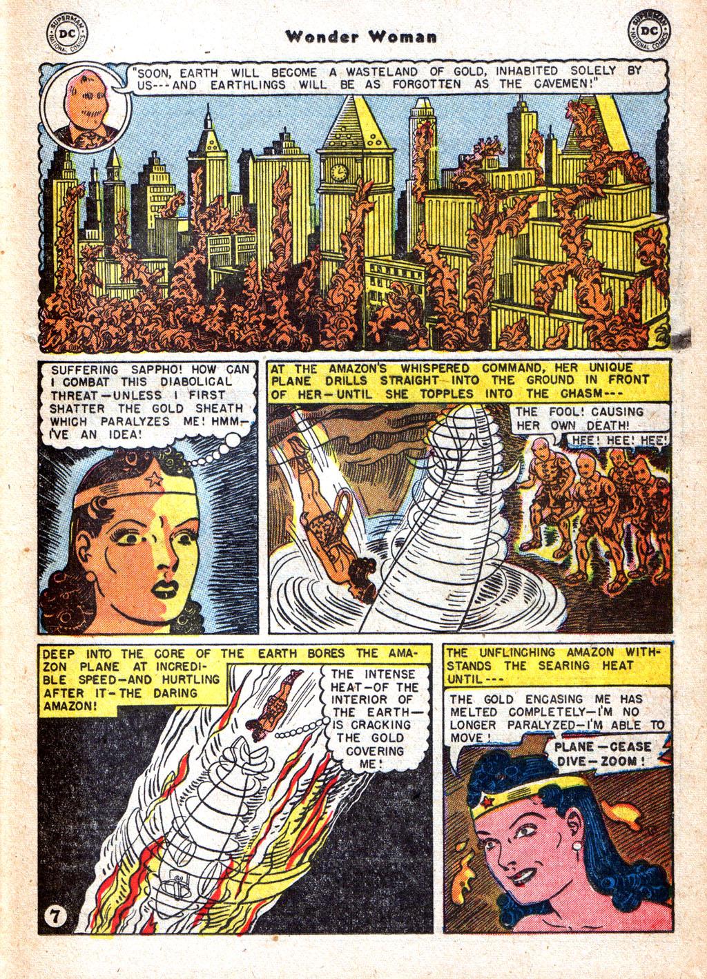 Read online Wonder Woman (1942) comic -  Issue #72 - 21