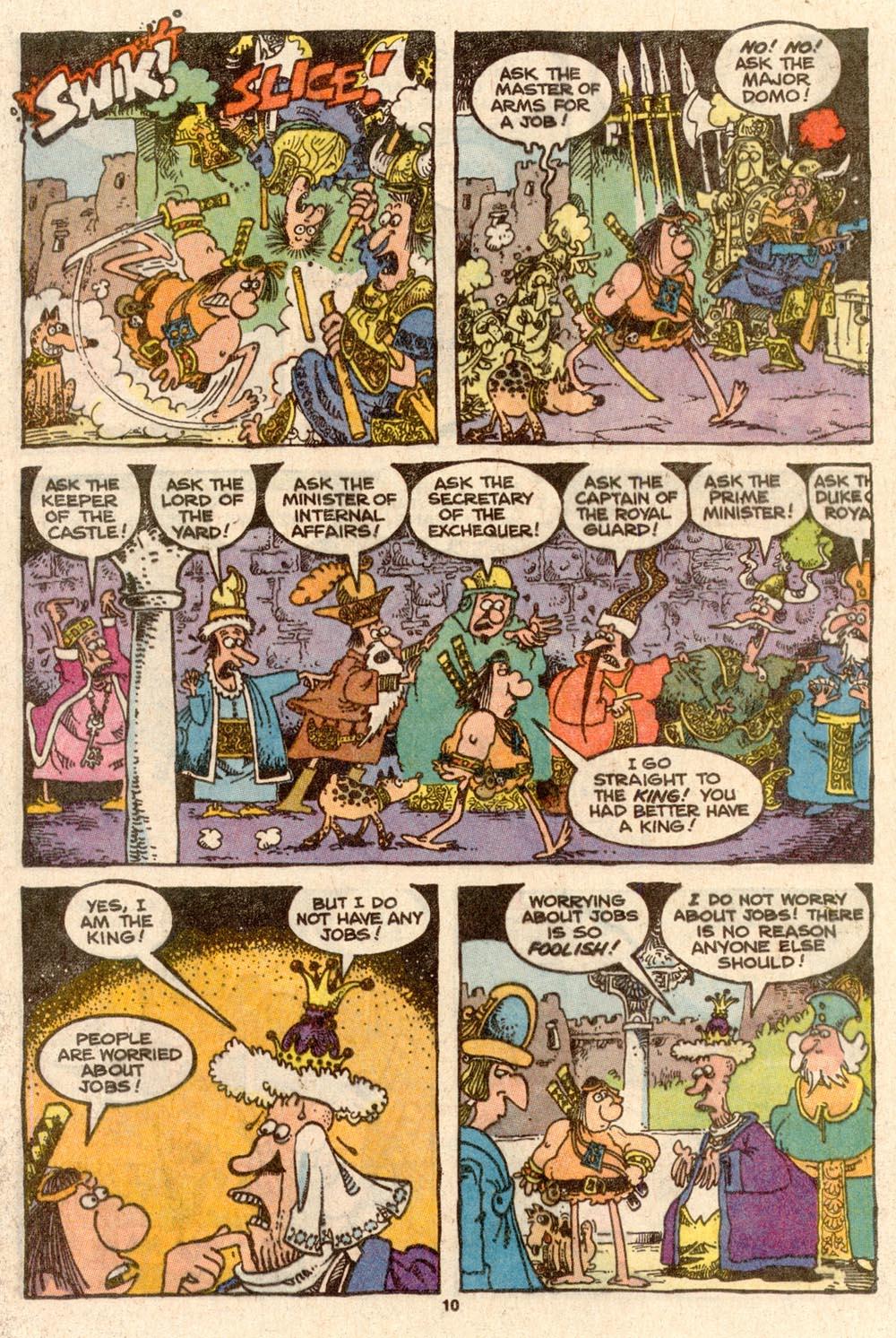 Read online Sergio Aragonés Groo the Wanderer comic -  Issue #60 - 10