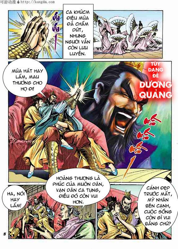 Đại Đường Uy Long chapter 15 trang 5