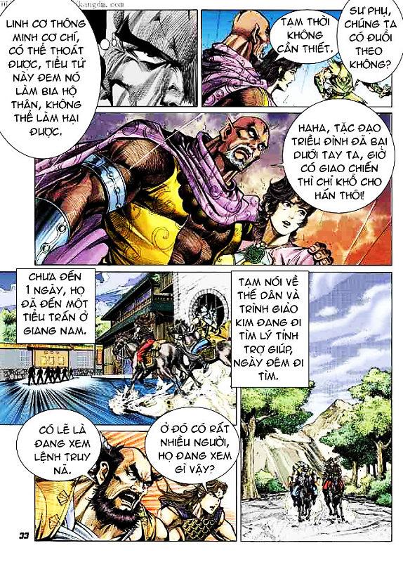 Đại Đường Uy Long chapter 15 trang 33