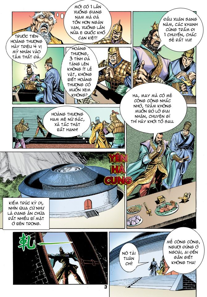 Đại Đường Uy Long chapter 19 trang 3
