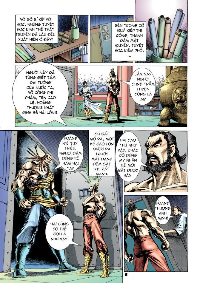 Đại Đường Uy Long chapter 19 trang 9