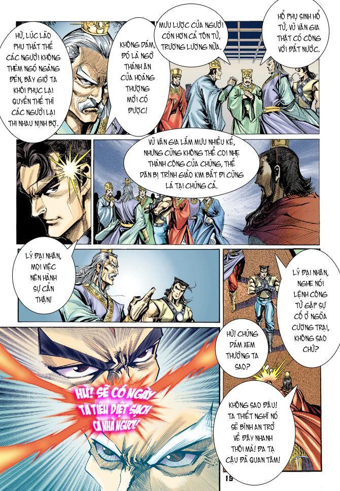 Đại Đường Uy Long chapter 20 trang 14