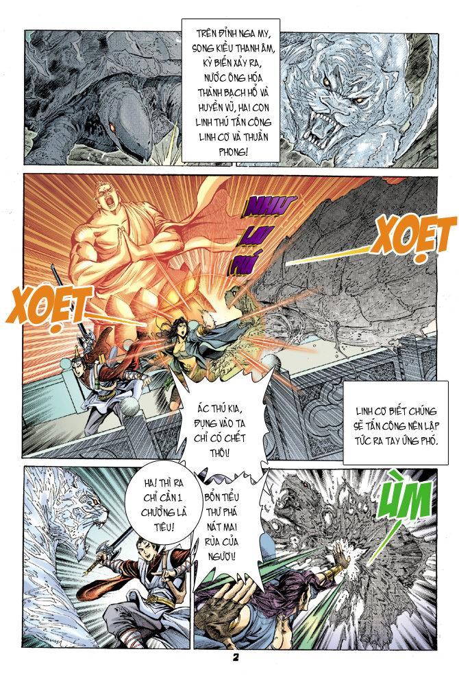 Đại Đường Uy Long chapter 21 trang 2
