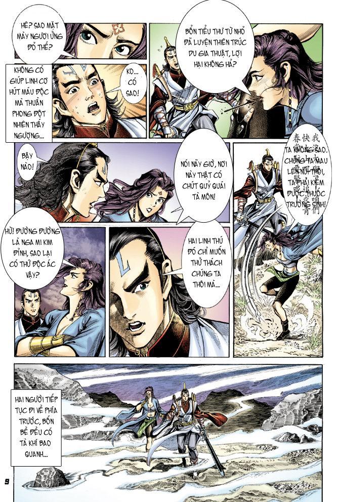 Đại Đường Uy Long chapter 21 trang 9