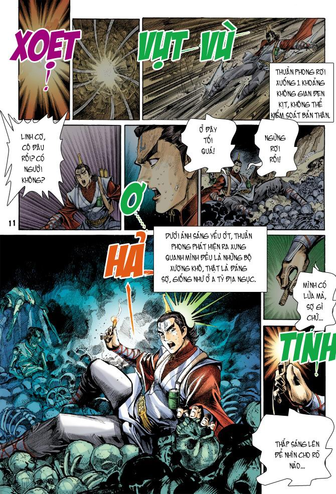 Đại Đường Uy Long chapter 21 trang 11