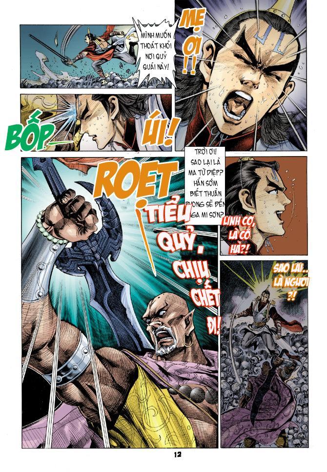 Đại Đường Uy Long chapter 21 trang 12