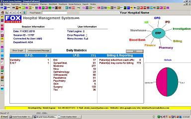Hospital Management Software HMS Oracle Based