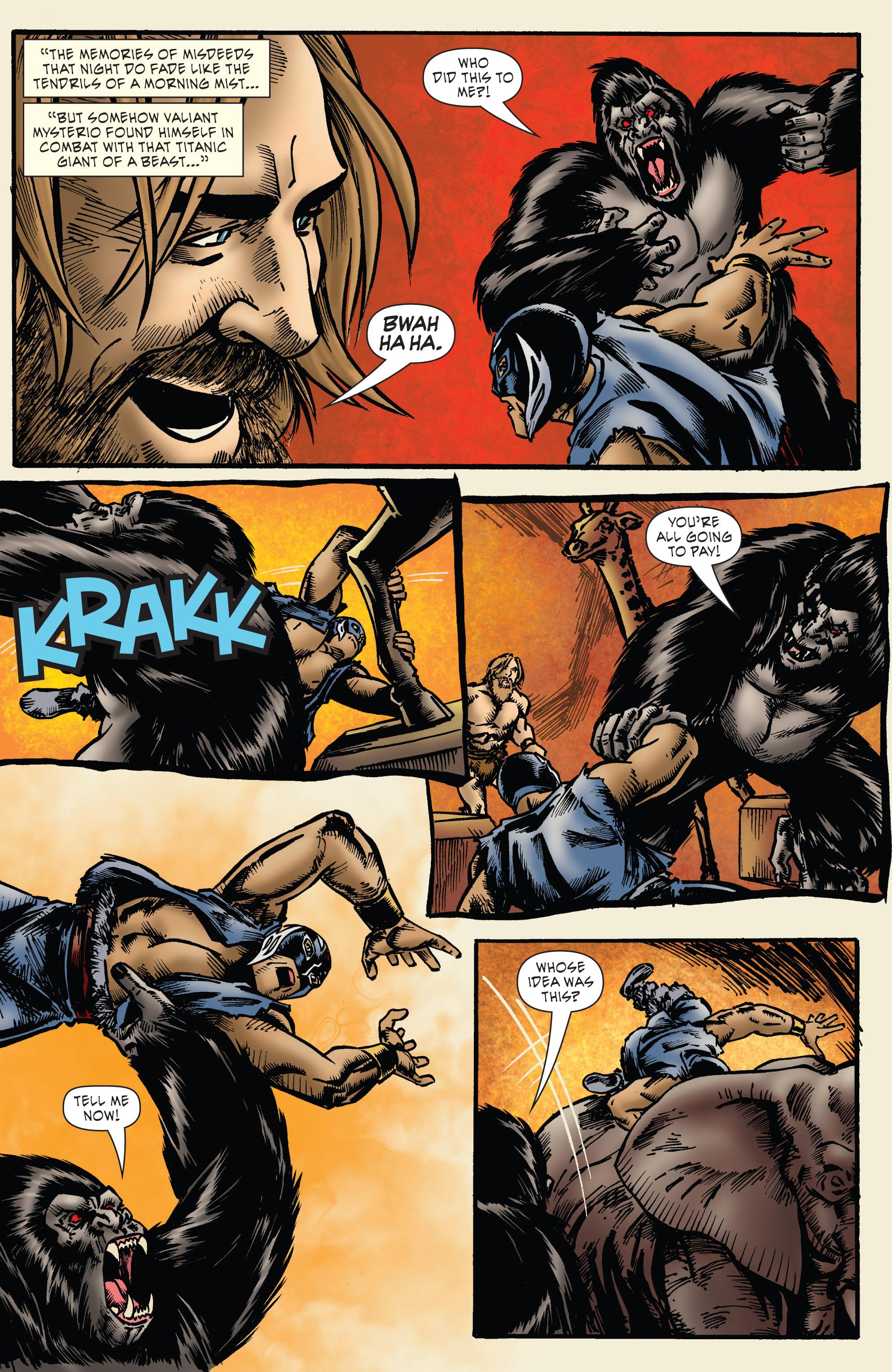 Read online WWE Superstars comic -  Issue #7 - 13