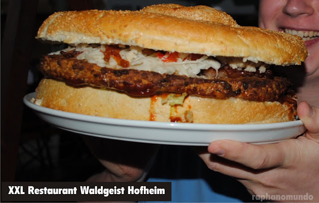 Hambúrguer gigante