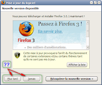 upgrade Firefox 3
