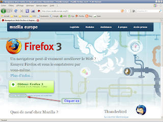 Mozilla Firefox 3 - accéder aux notes de version