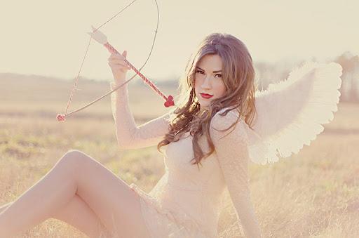 bride with an arrow