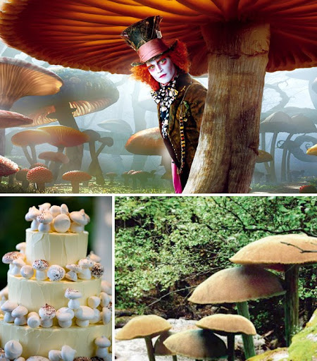 Wedding Theme Inspiration From 'Alice In Wonderland