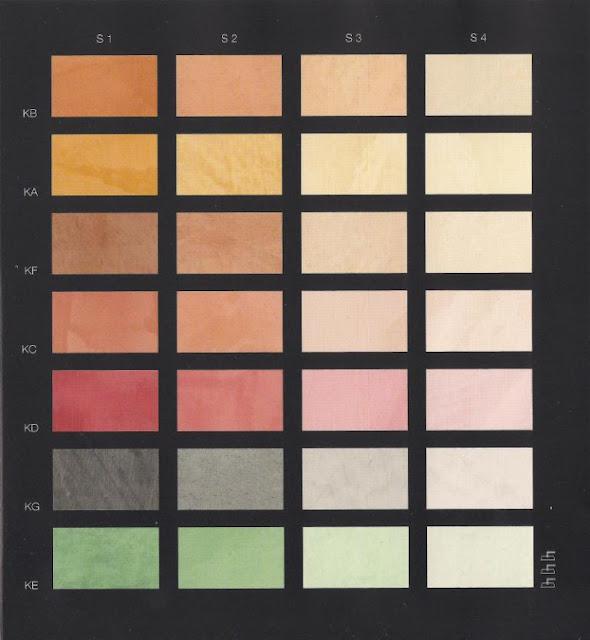 Popolare Tabella Dei Colori Per Pareti ~ Idea Creativa Della Casa e Dell  NN42