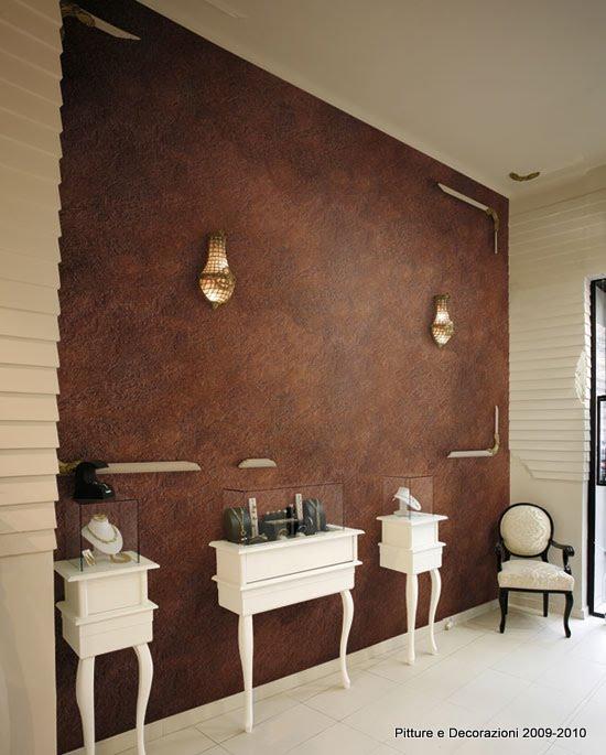 Pitture decorazioni antico ferro oikos - Pitture particolari per interni decorazioni ...