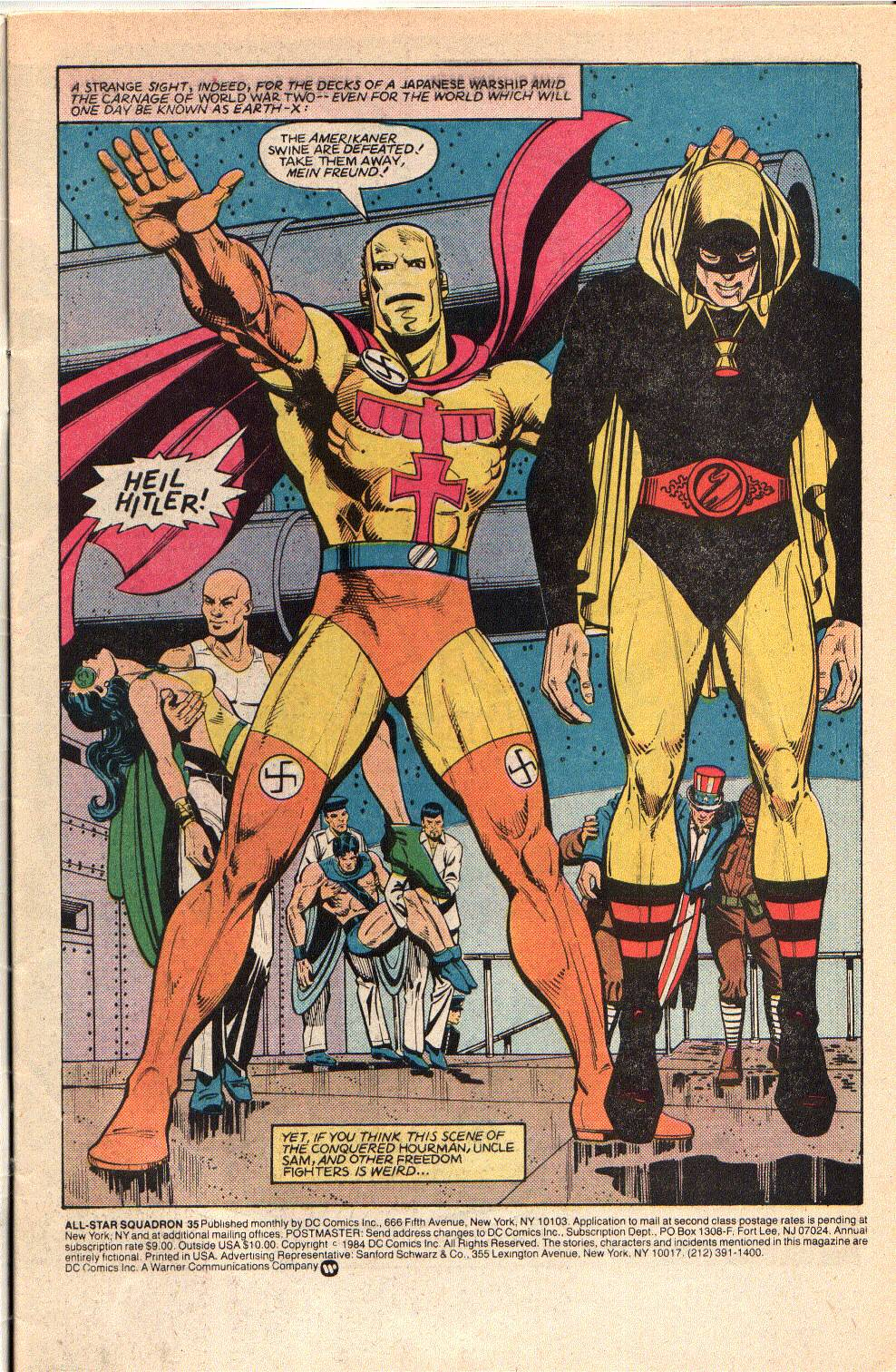 Read online All-Star Squadron comic -  Issue #35 - 3