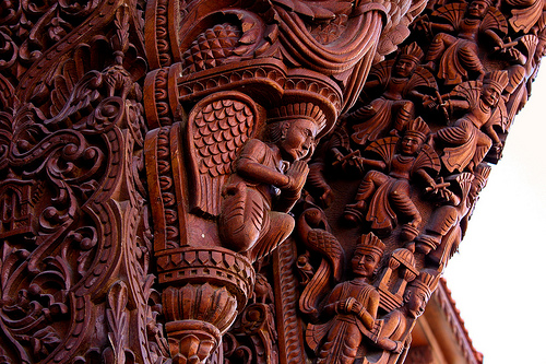Commercial Exploration Diary: Wood Carving