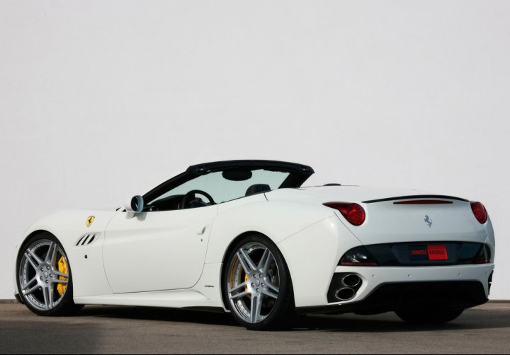 2010 Novitec Rosso Ferrari California Supercharged ...
