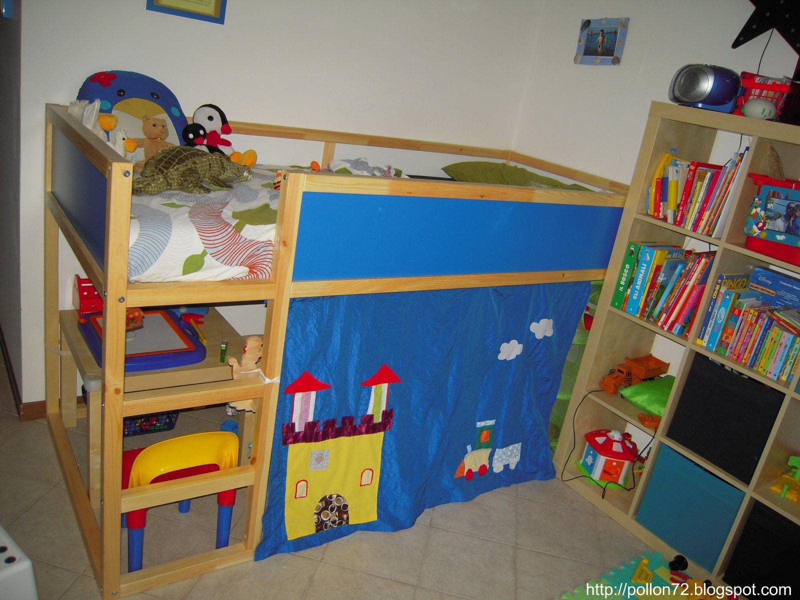 Immagini letti a castello for Letti a castello per 3 bambini