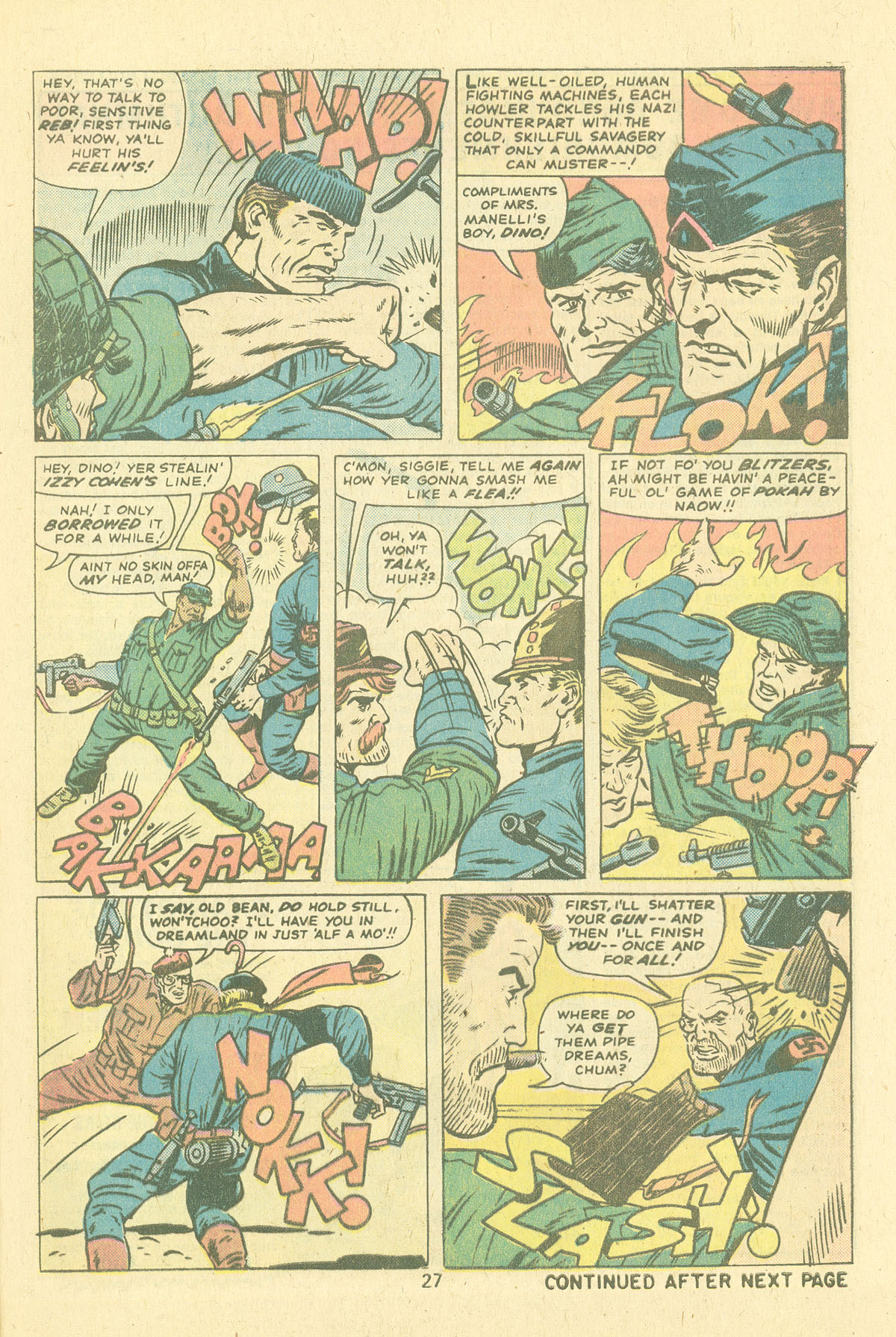 Read online Sgt. Fury comic -  Issue #124 - 29