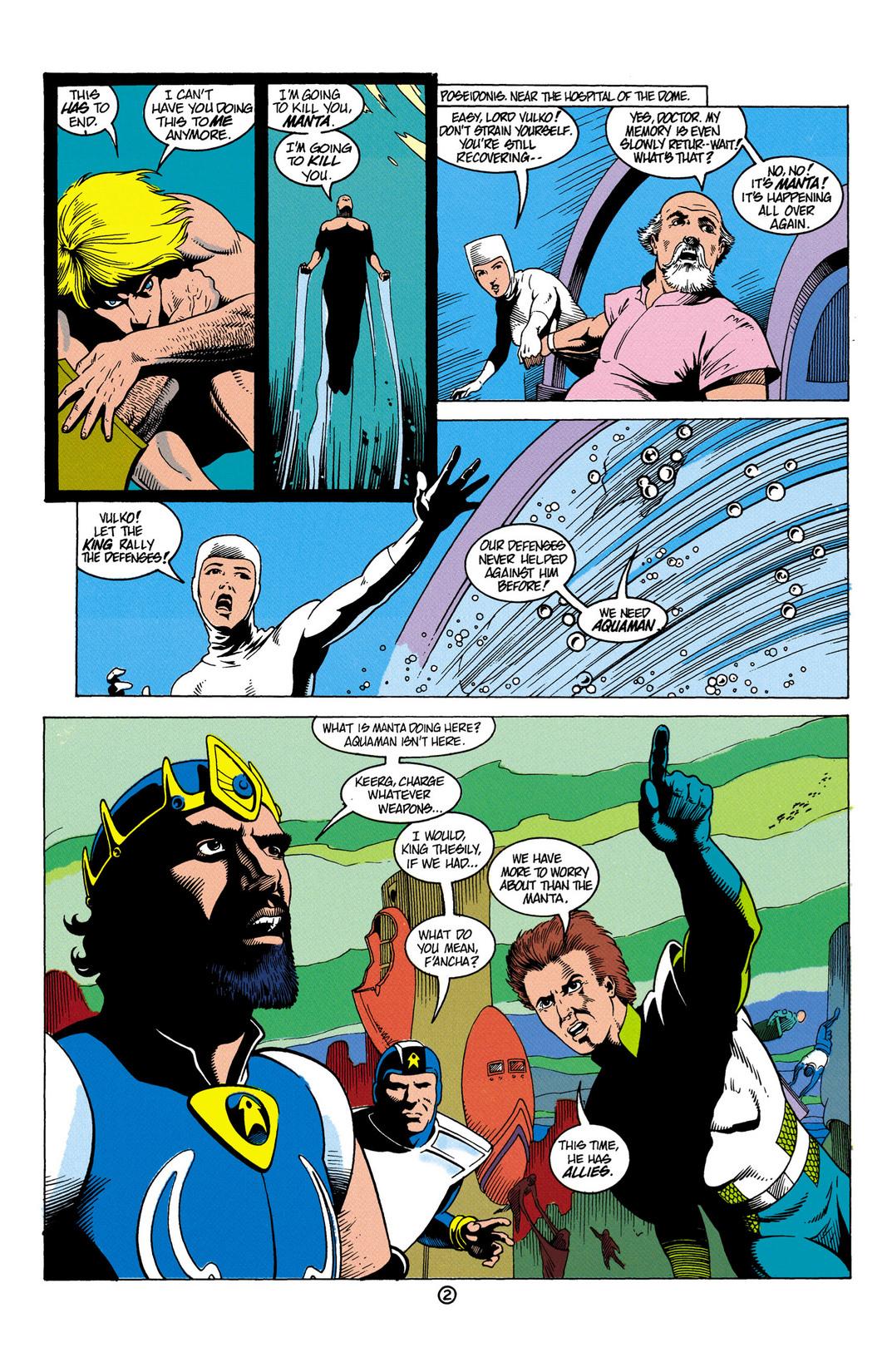 Read online Aquaman (1991) comic -  Issue #6 - 3