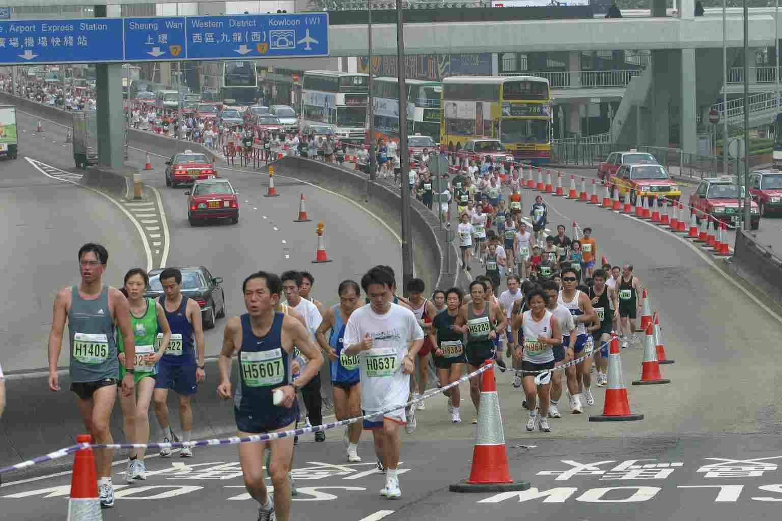Maratón Internacional de Hong Kong 2011