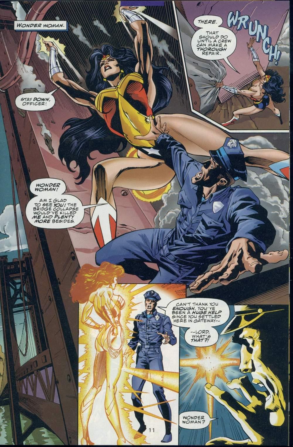 Read online DC Versus Marvel Comics comic -  Issue #1 - 13