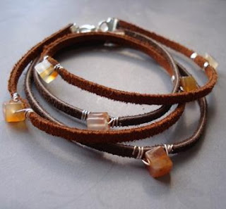 How To Make Leather Jewelry Tutorials The Beading Gem S