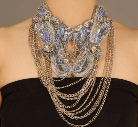 Gaurav Guptas Tangled Chain Jewelry Designs The Beading Gems Journal