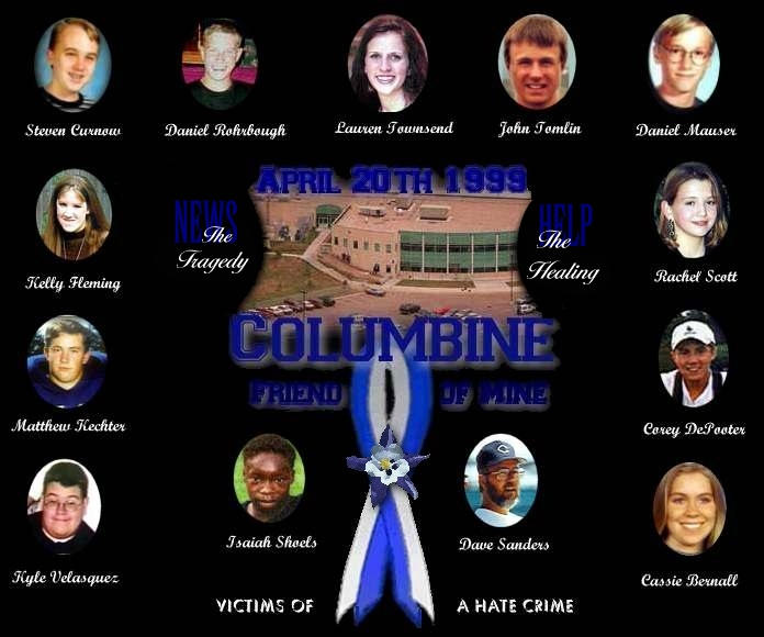 Columbine High School Shooting: Rachel Joy Scott: About Columbine
