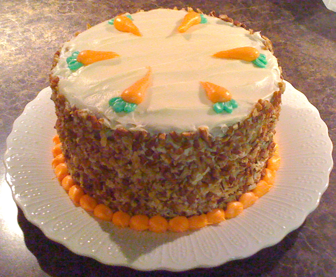 Carrot And Chocolate Chip Cake
