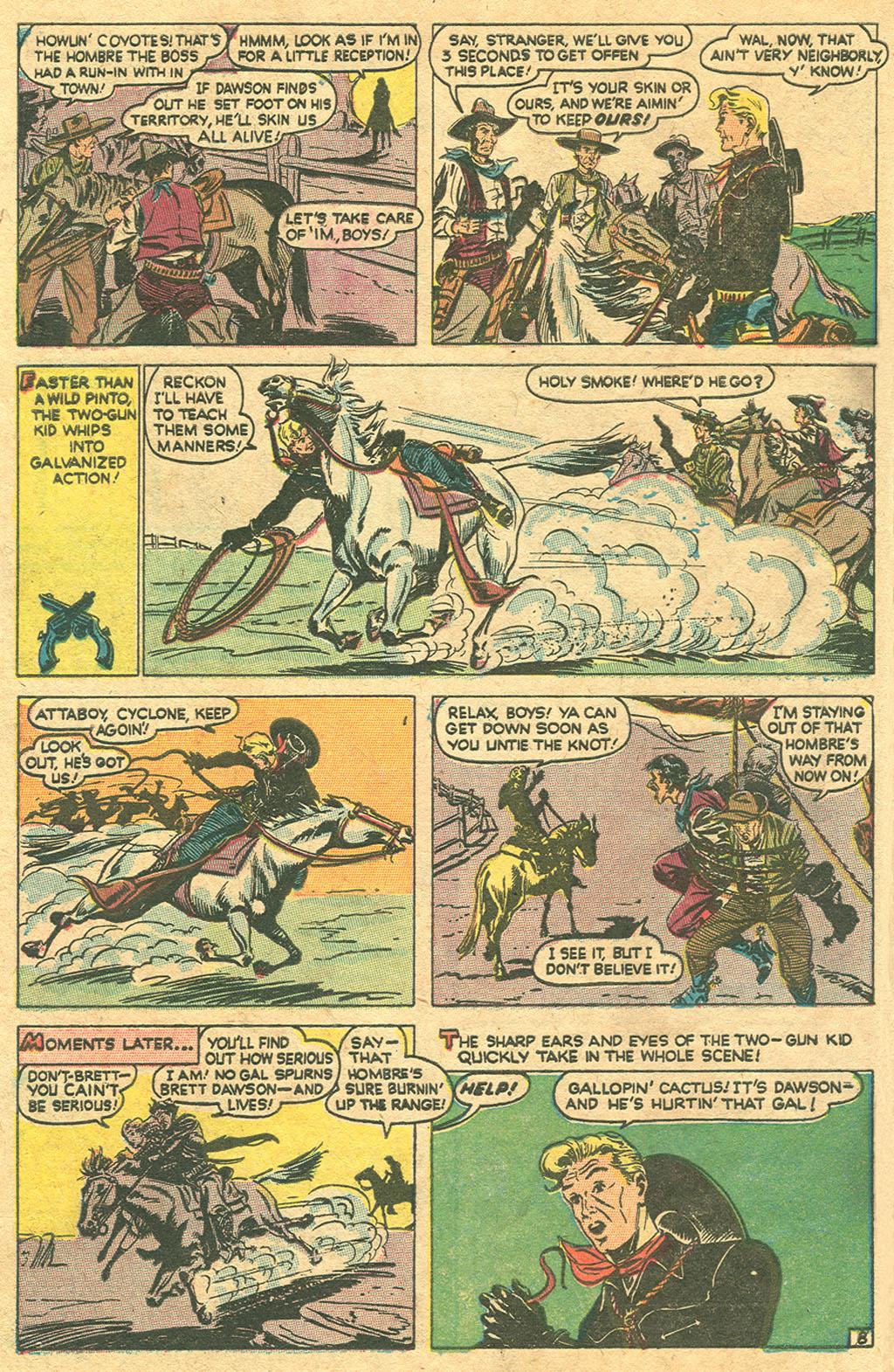 Read online Two-Gun Kid comic -  Issue #1 - 10