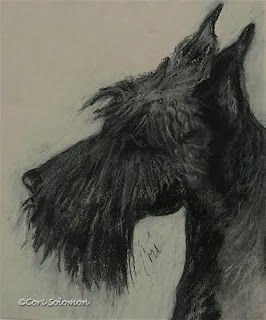 Scottish Terrier - Scottish Delight By Cori Solomon