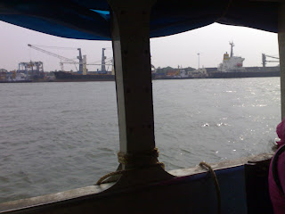 View of Kochi Port
