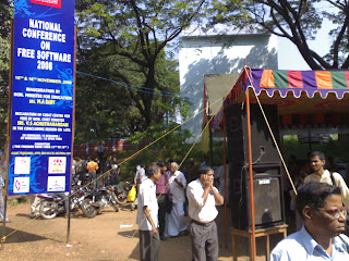 Registration Counter, CUSAT campus