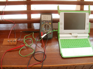Power Controller connected to OLPC