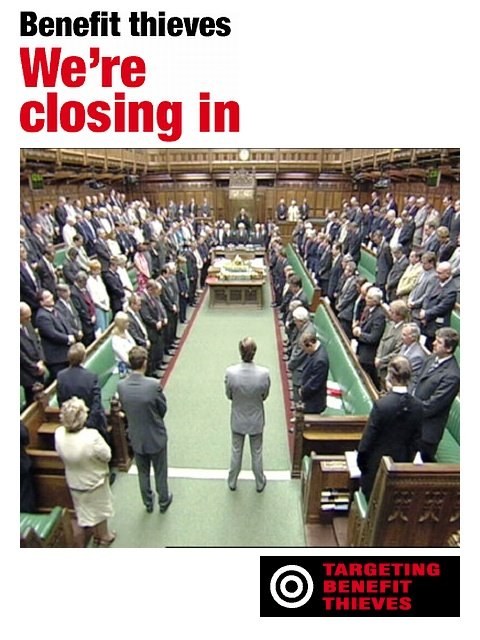 Funny Pic - Benefit Thieves Beware! Parliament