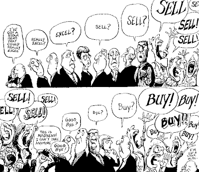 Funny Pic - How the stock market works