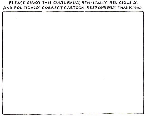 Funny Politically Correct Cartoon