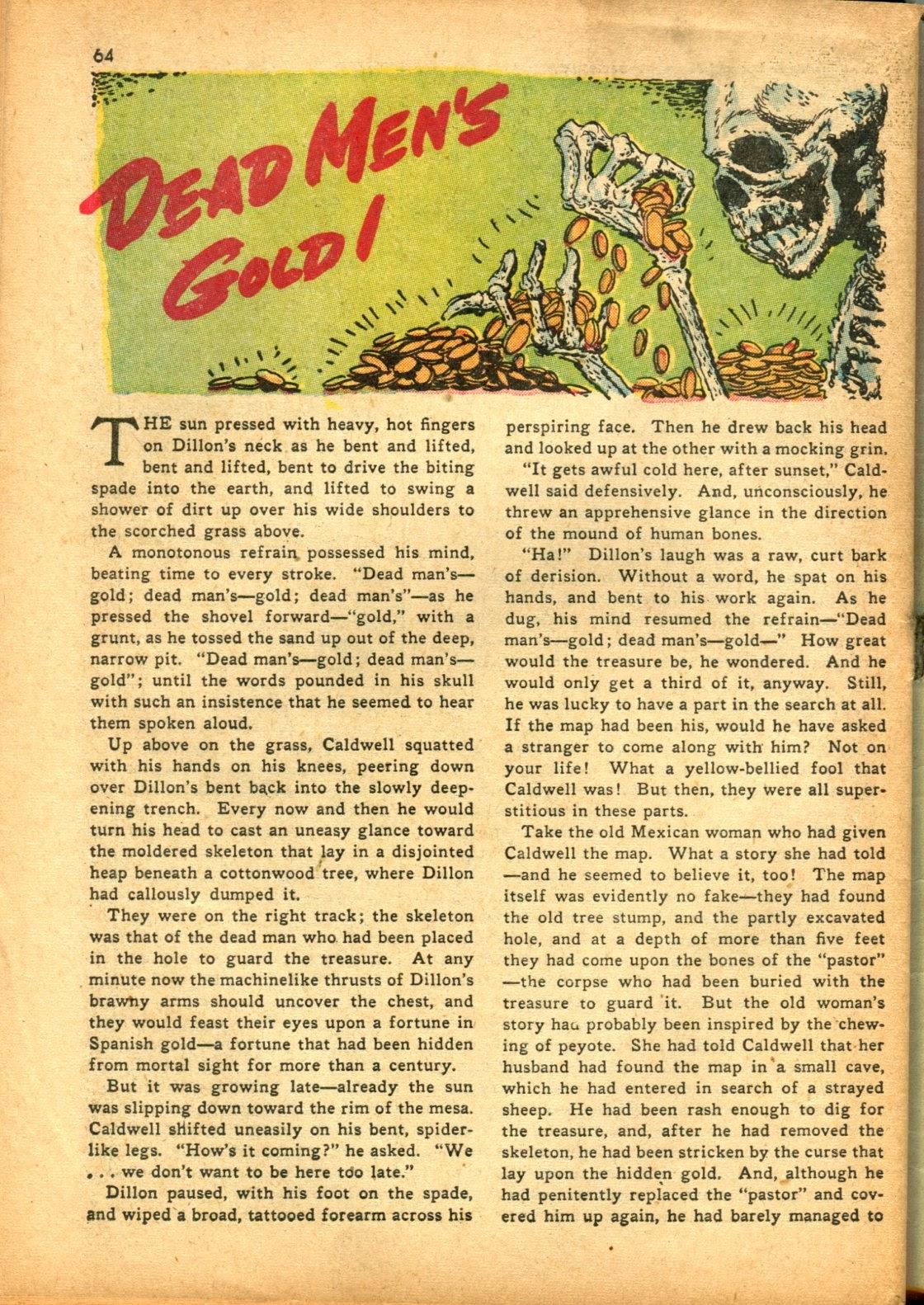 Read online Super-Magician Comics comic -  Issue #15 - 63