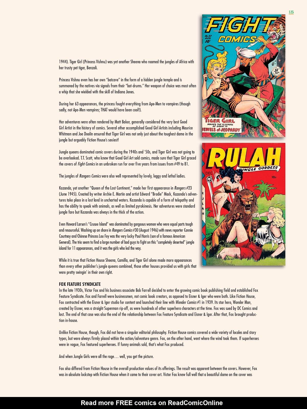 Read online Jungle Girls comic -  Issue # TPB (Part 1) - 17