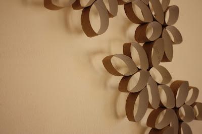Flores de papel higinico  Resseny
