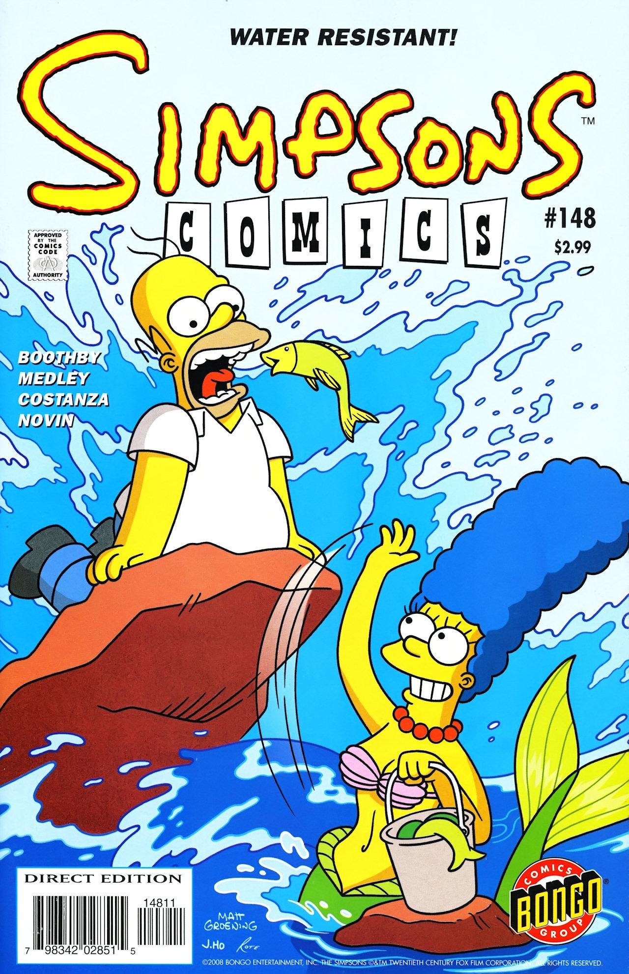 Read online Simpsons Comics comic -  Issue #148 - 1