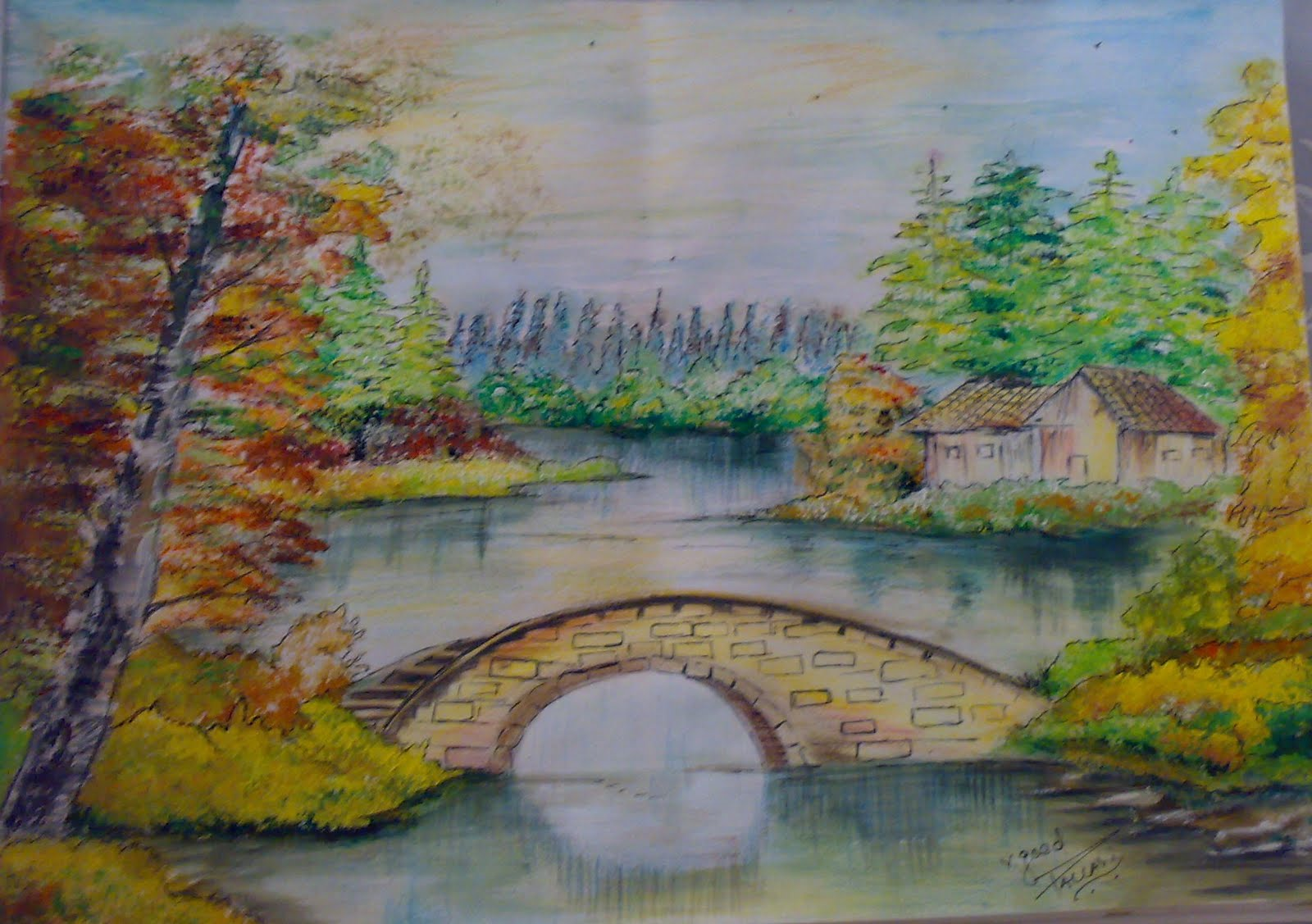 Nature Drawings In Color Pictures to Pin on Pinterest ...
