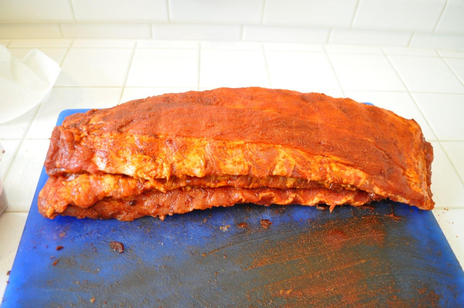 Freeing My Martha: BBQ Pork Ribs