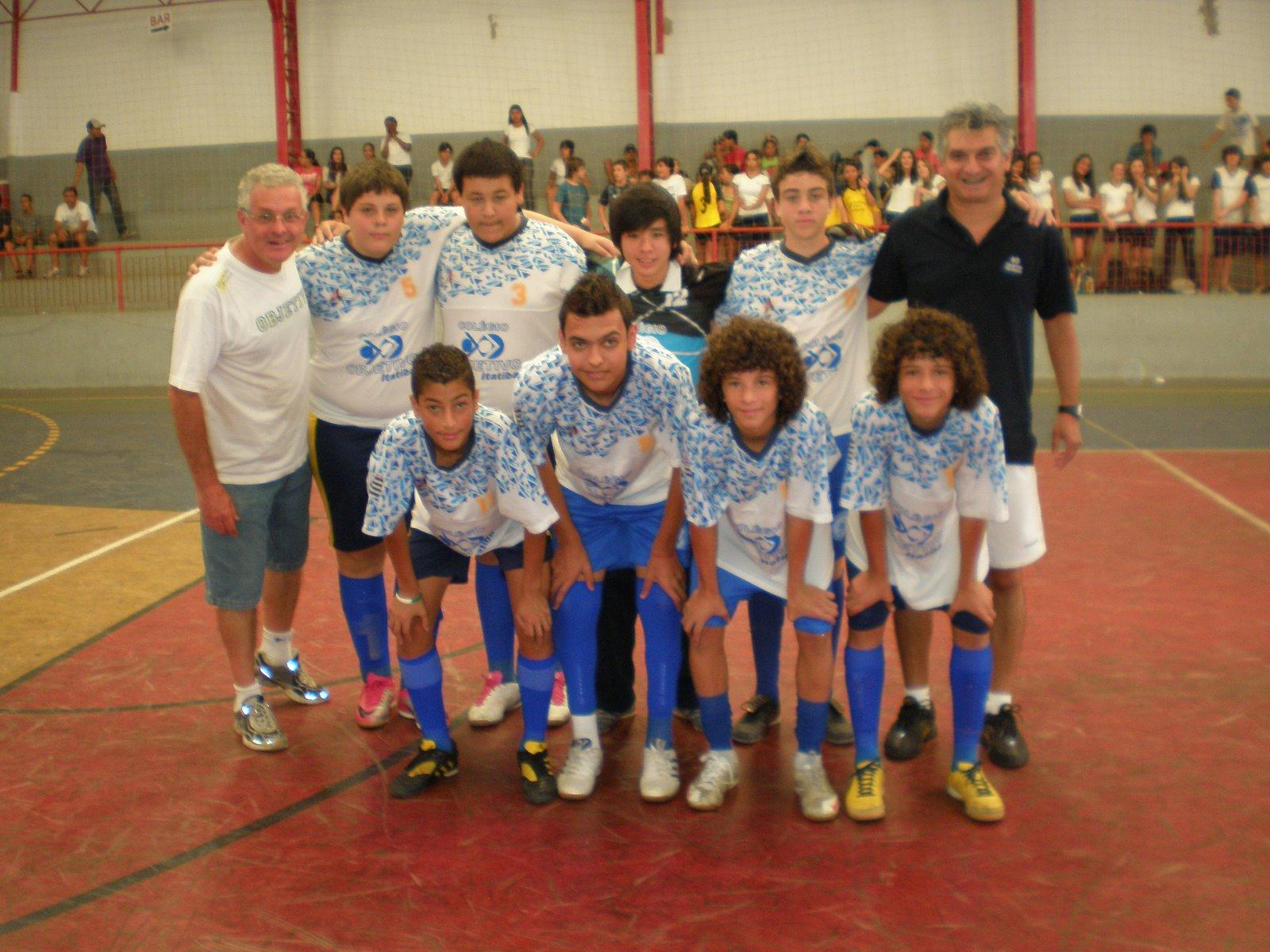 c160b8081e1cf A equipe de FUTSAL Infantil do Colégio Objetivo sagrou-se campeã da  Olímpiada Estudantil