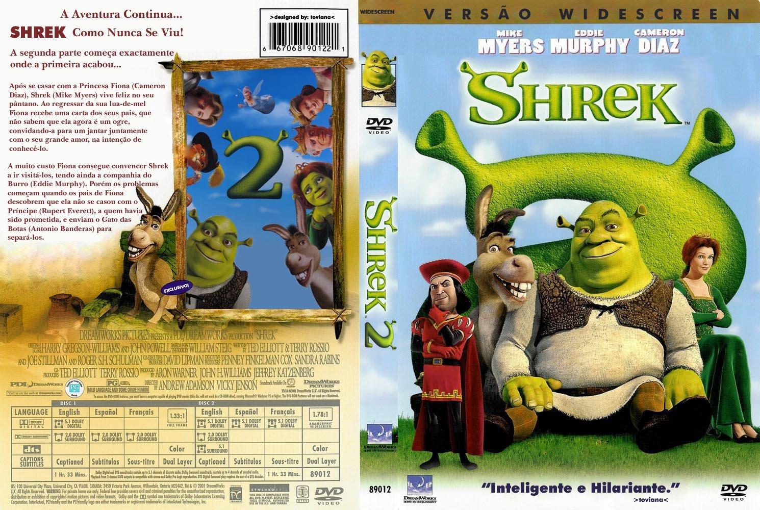 Shrek Dvd Menu Pick Me 90279 Movieweb