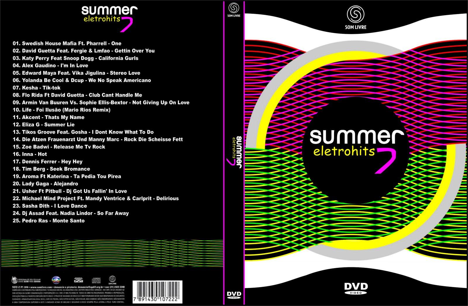 cds gratis summer eletrohits 7